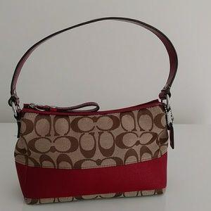 Handbags - Coach Logo Small Handbag